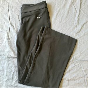 Nike Dri-Fit grey full length exercise leggings